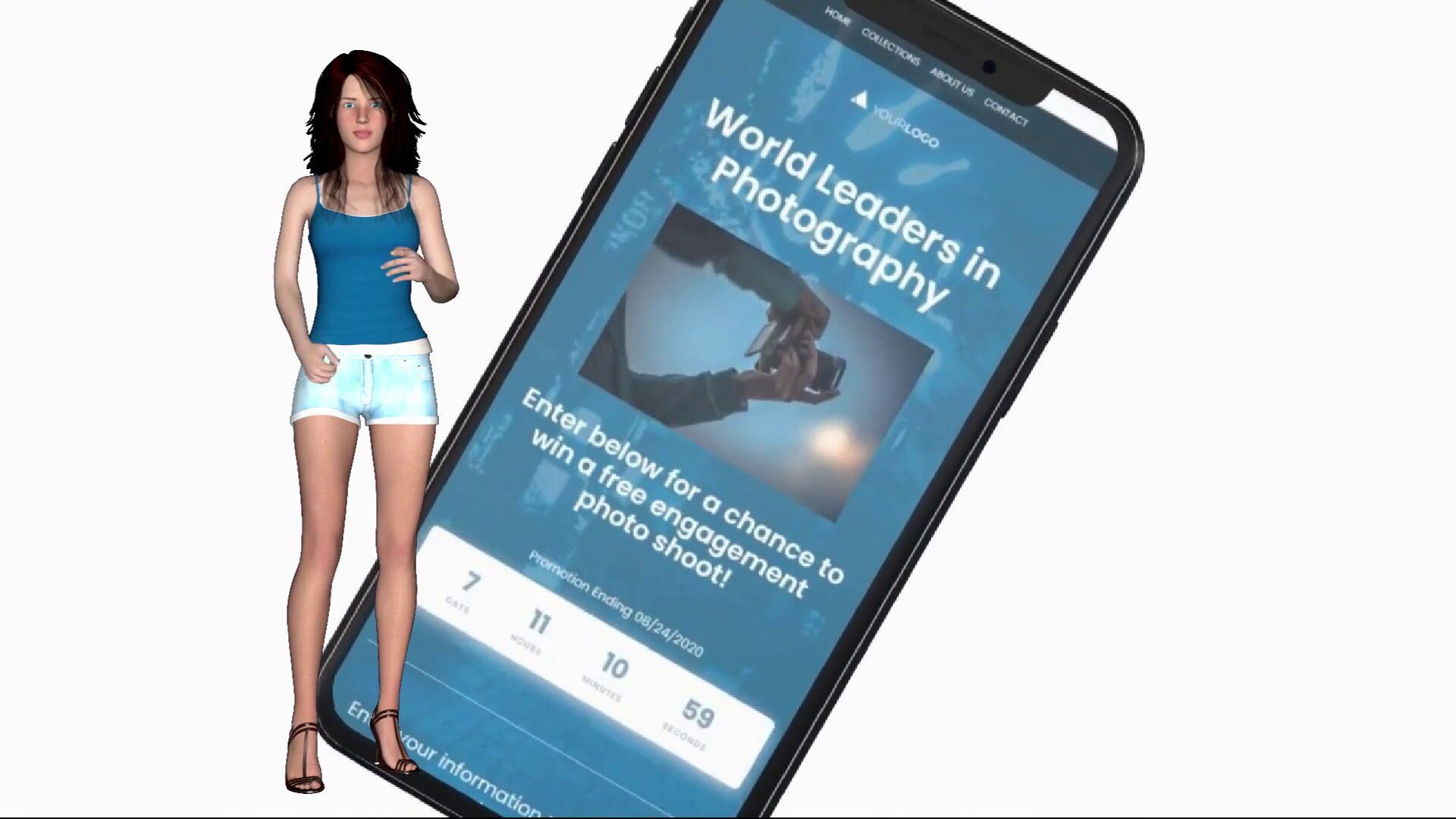 адаптивный мобильный сайт