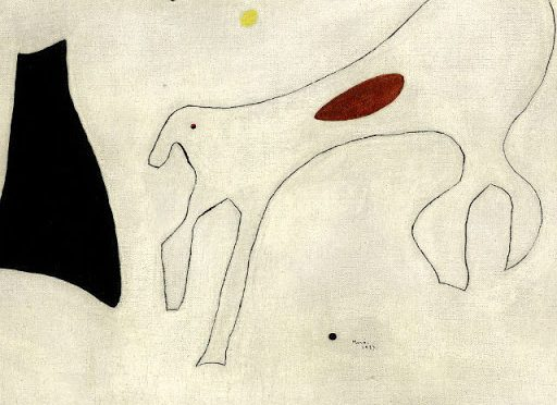 Картина Жоана Миро собака за $2 миллиона
